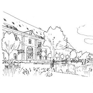 Projet du cabinet d'architecture Chelouti à Douai
