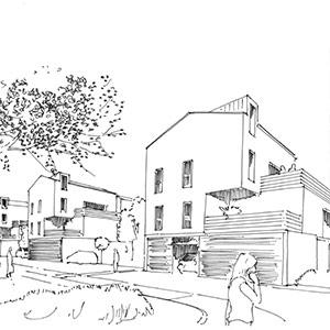 Projet du cabinet d'architecture Chelouti à Grande Synthe