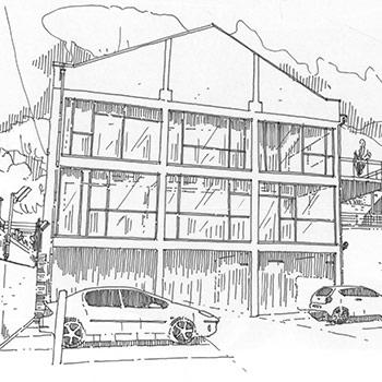 Projet du cabinet d'architecture Chelouti à Avelin