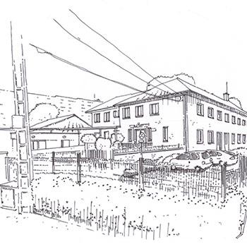 Projet du cabinet d'architecture Chelouti à Loos