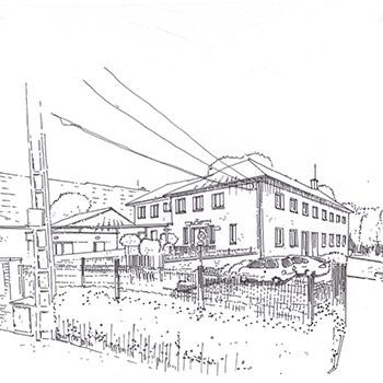 Projet du cabinet d 39 architecture chelouti loos centre for Projet d architecture