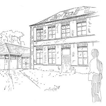 Projet du cabinet d'architecture Chelouti à Cobrieux