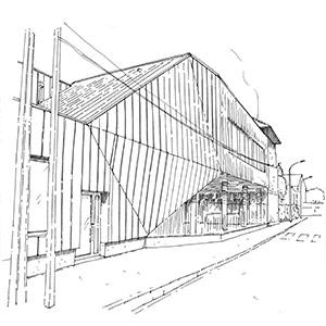 Projet du cabinet d'architecture Chelouti à l'école Michelet d'Hénin Beaumont