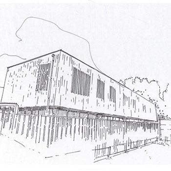 Projet du cabinet d'architecture Chelouti à Tourcoing Ecole Lecocq