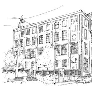 Projet du cabinet d'architecture Chelouti à La Fabrique de Tourcoing
