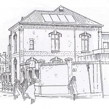 Projet du cabinet d'architecture Chelouti à Tourcoing Ecole Lavoisier