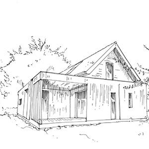 Projet du cabinet d'architecture Chelouti à Templeuve