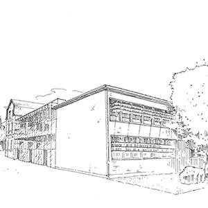 Projet du cabinet d'architecture Chelouti à Lens