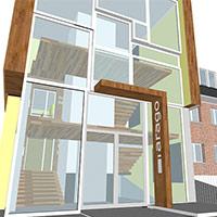 Centre Arago à LOOS - Projet du cabinet d'architectes Chelouti Tourcoing