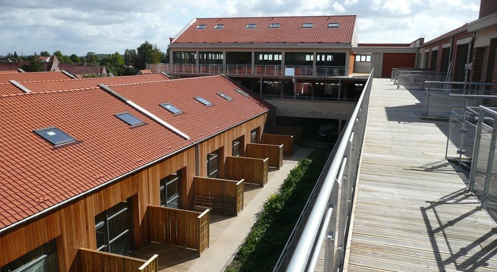 46 Logements collectifs à AVELIN - Projet du cabinet d'architectes Chelouti Tourcoing