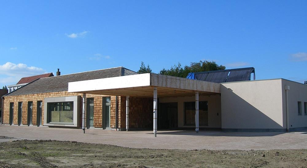 Salle polyvalente de BOESEGHEM - Projet du cabinet d'architectes Chelouti Tourcoing