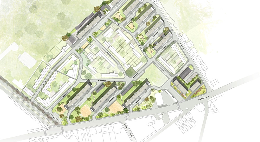 204 Logements collectifs à HAUBOURDIN - Projet du cabinet d'architectes Chelouti Tourcoing