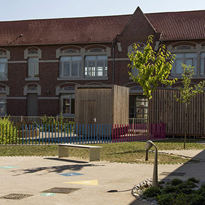 Groupe scolaire Jules Michelet à HENIN BEAUMONT - Projet du cabinet d'architectes Chelouti Tourcoing